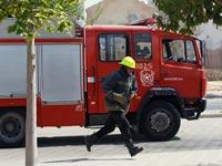 נפילת גראד קטיושה בבאר שבע מכבי אש / צלם : רויטרס